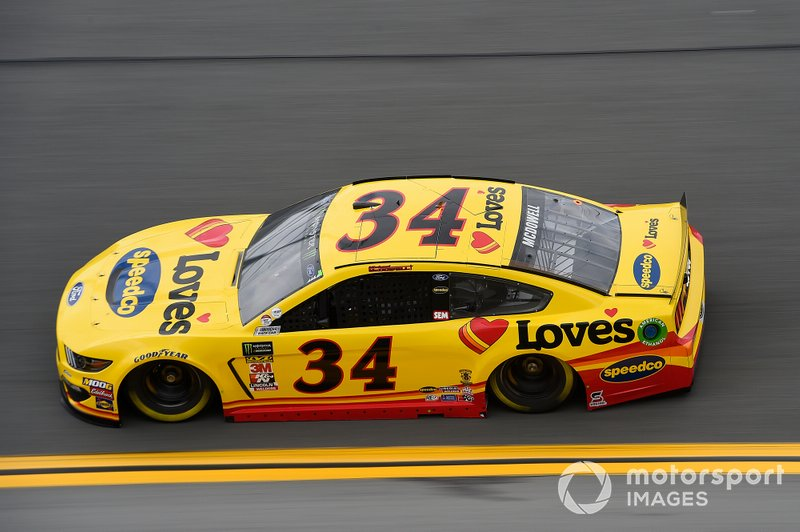 34. Michael McDowell, Front Row Motorsports, Ford Mustang Love's Travel Stops