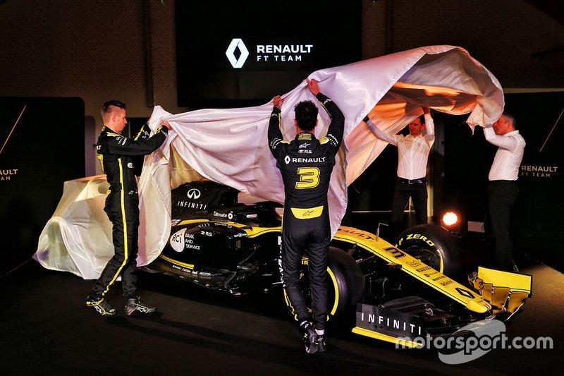 Enthüllung Renault F1 Team R.S.19