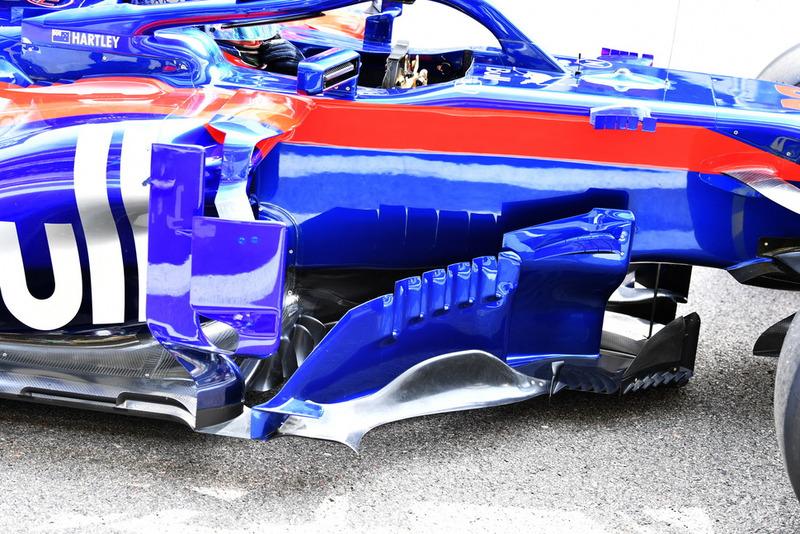Bargeboards del Scuderia Toro Rosso STR13