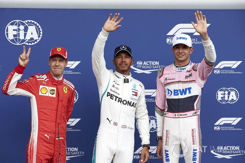 Hamilton también se impuso en Bélgica, en un circuito Ferrari