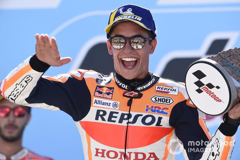 Марку Маркесу – главной силе MotoGP в наши дни – исполнилось три года
