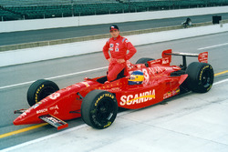 Michele Alboreto, Team Scandia