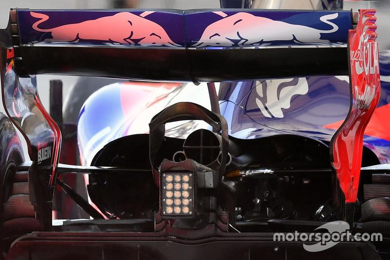 Задняя часть Toro Rosso STR12