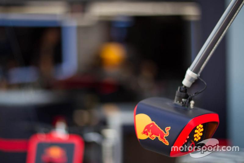Red Bull Racing team area