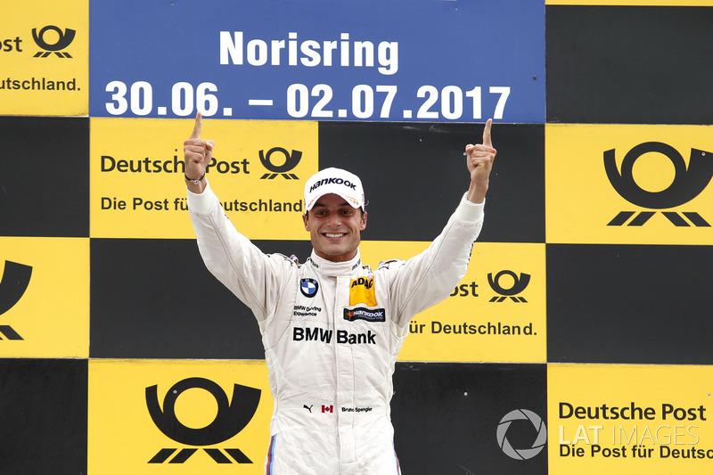 Подіум: переможець Бруно Спенглер, BMW Team RBM, BMW M4 DTM