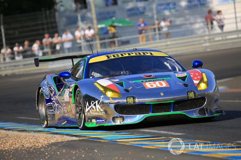 56. №60 Clearwater Racing Ferrari 488 GTE: Ричард Уи, Алвару Парент, Хироки Като