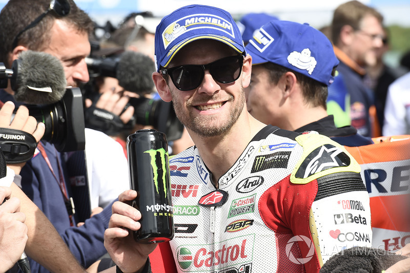 Third place qualifying for Cal Crutchlow, Team LCR Honda