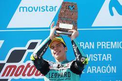 Podium : le vainqueur Joan Mir, Leopard Racing