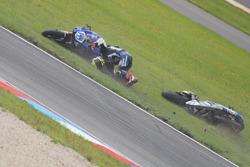 Federico Caricasulo, GRT Yamaha Official WorldSSP Team crash