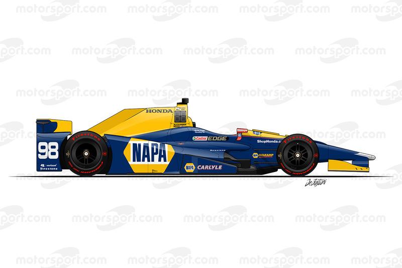 #98 - Alexander Rossi, Andretti-Herta Autosport Honda