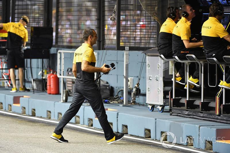 Керівник Renault Sport F1 Сіріль Абітбуль
