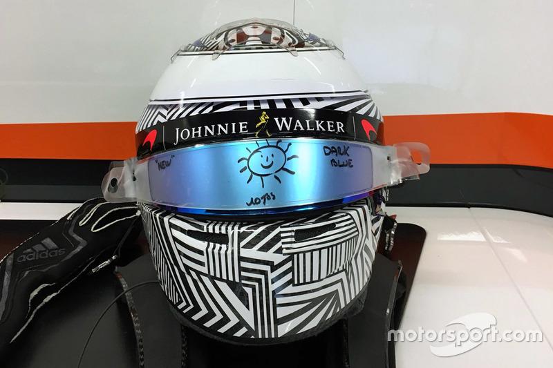 Casco Fernando Alonso, McLaren