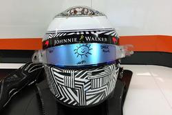 Helmet of Fernando Alonso, McLaren