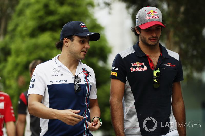 Феліпе Масса, Williams, Карлос Сайнс-мол., Scuderia Toro Rosso