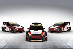 All cars of the MJP Racing Team Austria