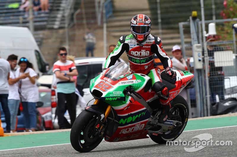 22. Sam Lowes, Aprilia Racing Team Gresini
