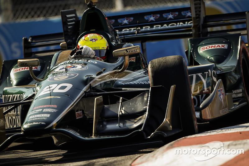 6. Spencer Pigot, Ed Carpenter Racing Chevrolet