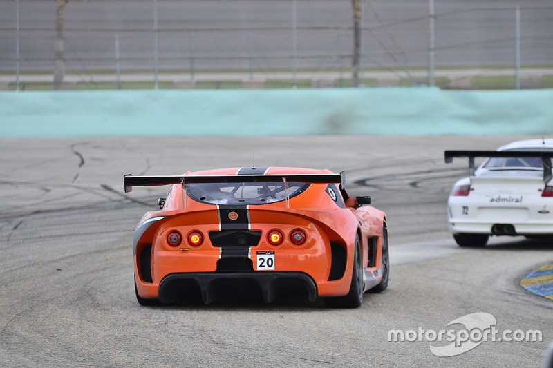 #20 MP2A Ginetta G55 driven by Renato Benedetto & Adolpho Rossi of Ginetta USA