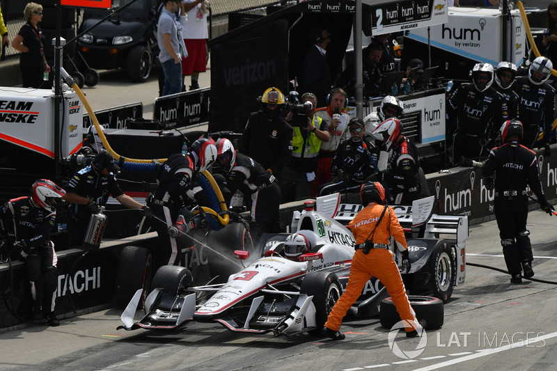 Helio Castroneves, Team Penske, Chevrolet
