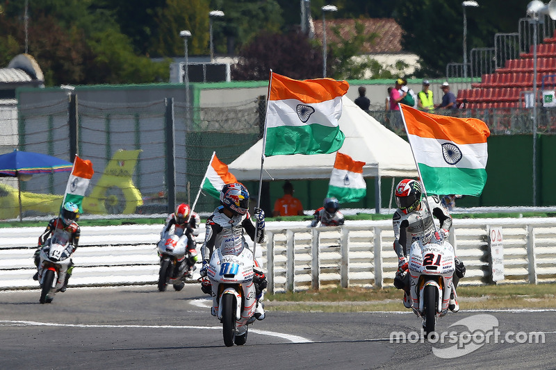 Jorge Martin, Aspar Team Mahindra Moto3, Francesco Bagnaia, Aspar Team Mahindra Moto3