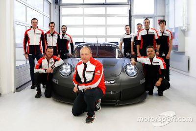 2017 Porsche GTE/GTLM unveil