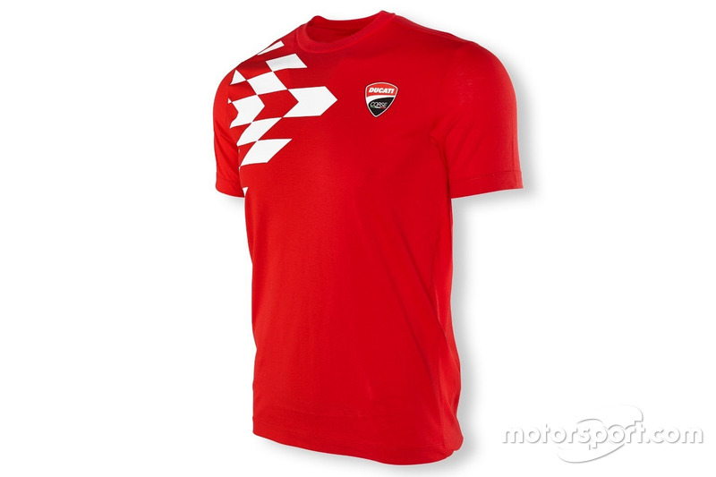 T-shirt Ducati Corse 2016 imprimé grille
