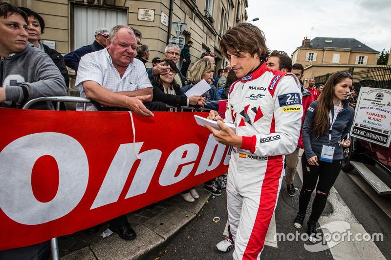 #44 Manor Oreca 05 Nissan: Roberto Merhi