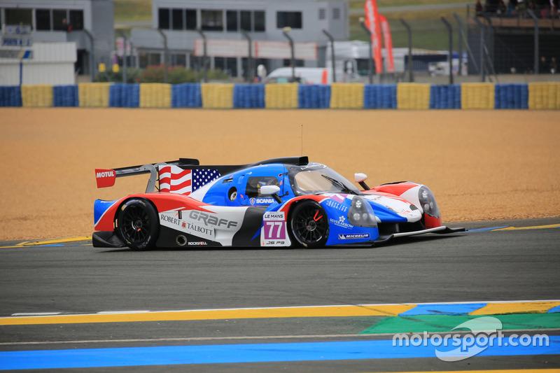 #77 Graff Ligier JPS3 - Nissan: John Falb