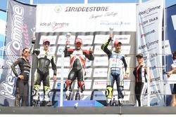 Classe 1000, podio Gara 2