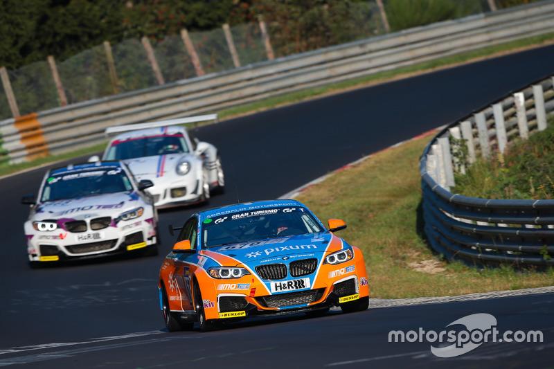 Stian Halvorsen, Erik Olaussen, Per Rustberggard, Paul Martin Dose, BMW M235i Racing Cup