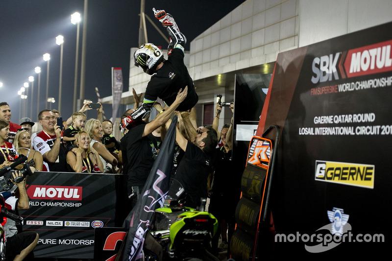 Weltmeister: Jonathan Rea, Kawasaki Racing