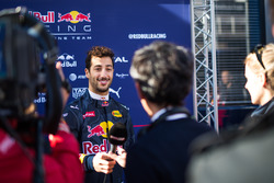 Daniel Ricciardo, Red Bull Racing met de media