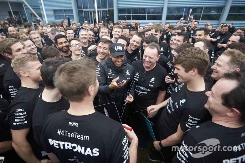 Льюис Хэмилтон, Mercedes AMG F1, сотрудники команды