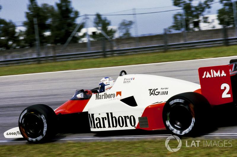 1985: McLaren-Porsche MP4/2B