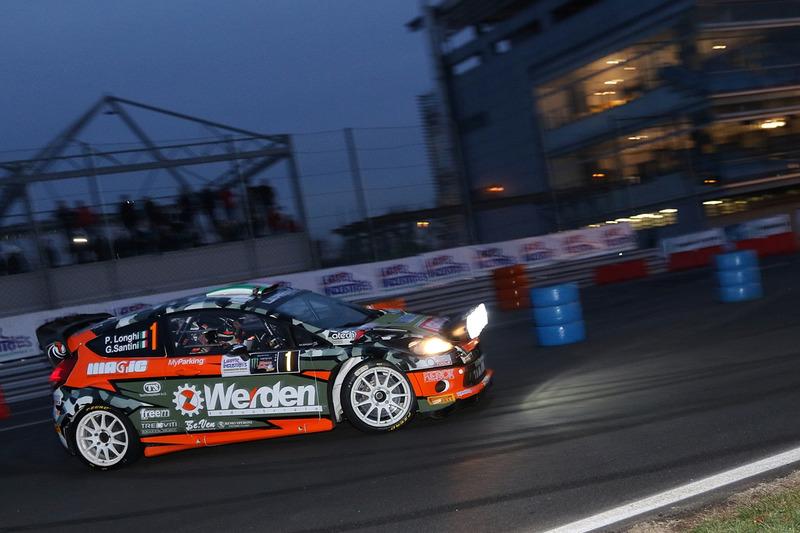 Пьеро Лонги, Джанмария Сантини, Ford Fiesta WRC