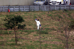 Juan Pablo Montoya, BMW Williams se retira de la carrera