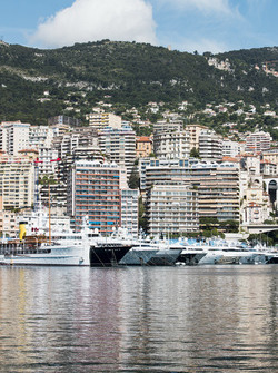 A view of Port Hercules in Monte Carlo