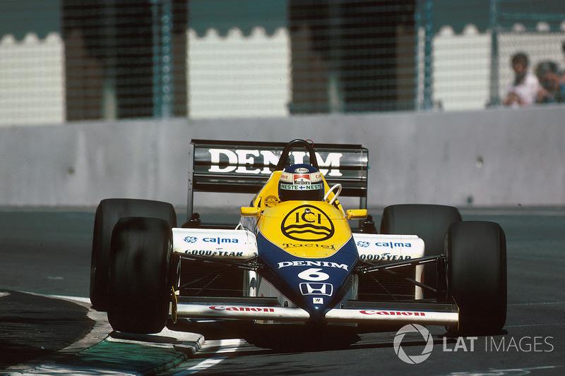 1985: Williams FW10 Honda (4 победы, 3-е место в КК)