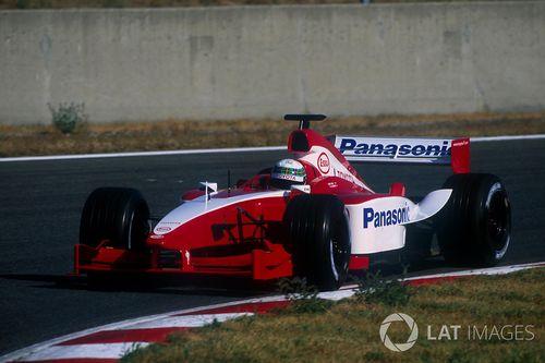 Toyota test session