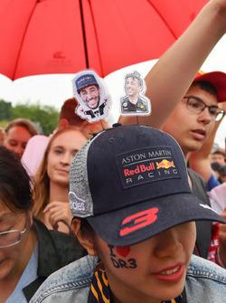 Un fan de Daniel Ricciardo, Red Bull Racing
