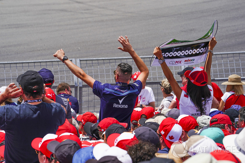 fans of Lance Stroll, Williams Racing