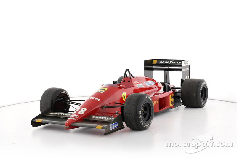 Subasta del Ferrari F1/87