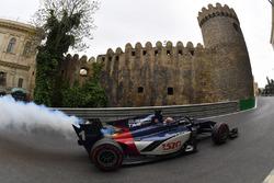 Artem Markelov, Russian Time engine smokes