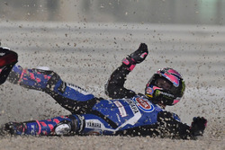 Accidente de Alex Lowes, Pata Yamaha