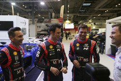 WRC drivers including Thierry Neuville, Andreas Mikkelsen and Sébastien Ogier