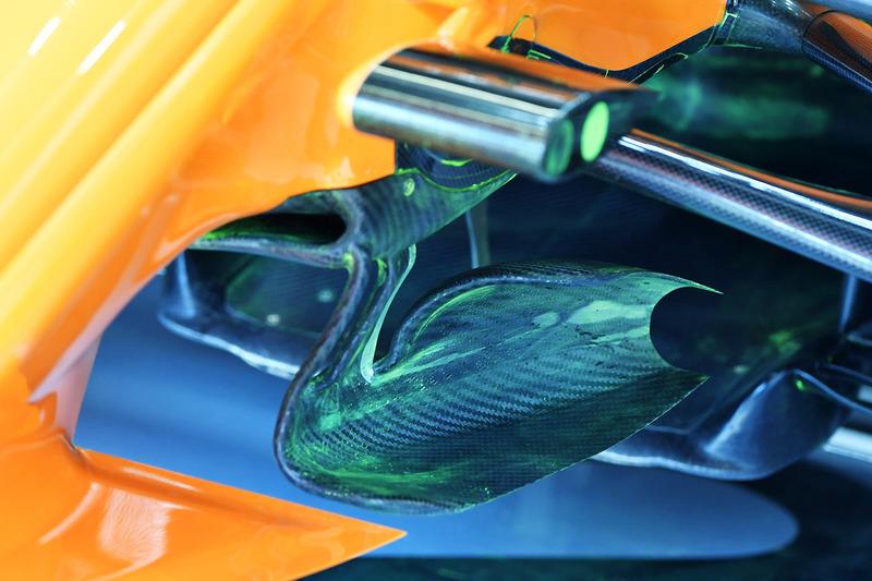 Un détail technique de la McLaren MCL33
