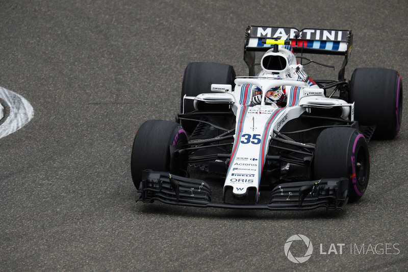 Sergey Sirotkin, Williams FW41 Mercedes