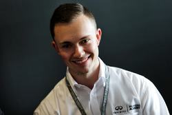 Evan Sloan, INFINITI Academy Award USA Winner, at a media roundtable.