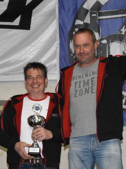 Beat Wyssen, Heinz Christen, podium Corsa