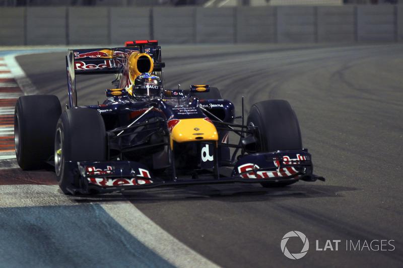 28. El Red Bull Racing RB6 de F1